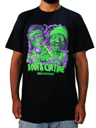 Camiseta Qix Cheech & Chong Aliens