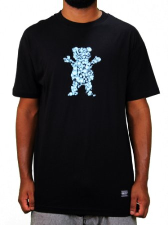 Camiseta Grizzly Drops Og Bear