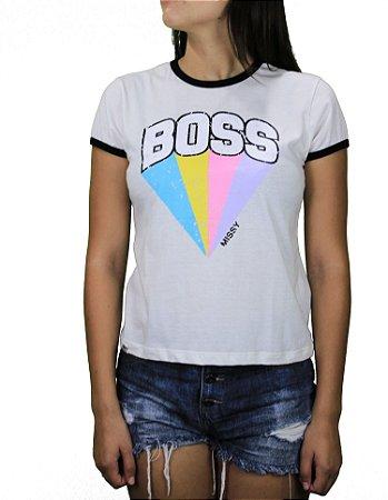 Camiseta Qix Missy Retro