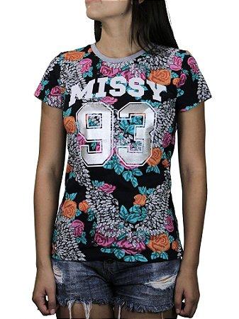 Camiseta Qix Missy 93 Floral
