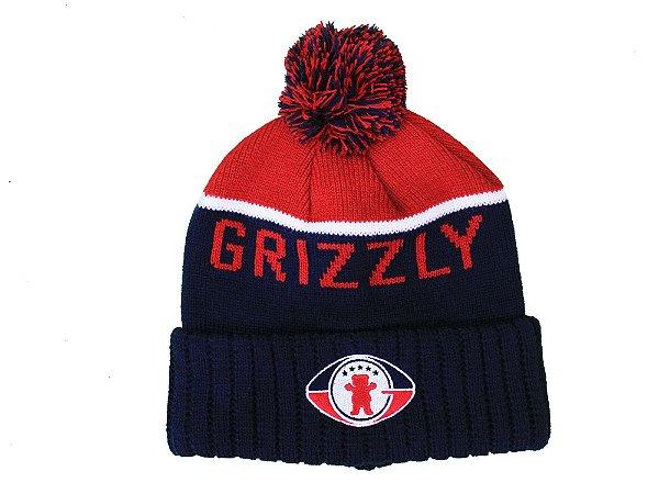 Touca Grizzly Draft Pom Beanie Navy