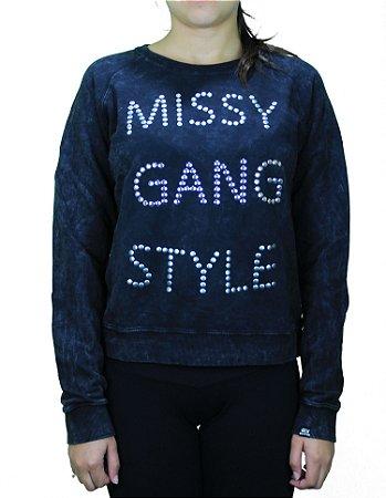 Moletom Qix Missy Gang Style