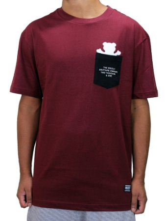 Camiseta Grizzly Credits Pocket