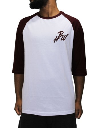 Camiseta Honey pot Raglan hpw Script