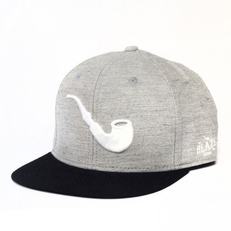 Boné Blaze Pipe Grey Black Snapback
