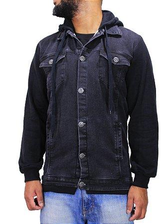 Jaqueta Double G Jeans c/ Moletom