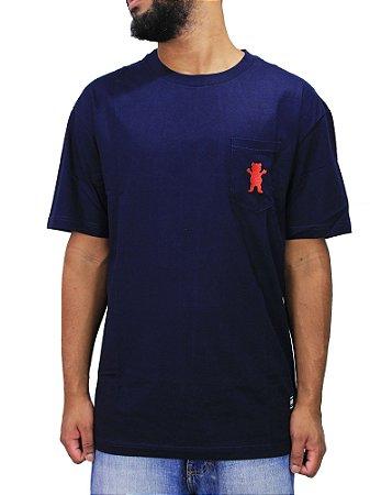 Camiseta Grizzly Og Bear Embroidery