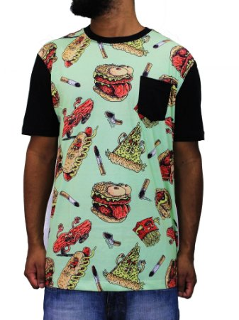 Camiseta Blunt Fast Food