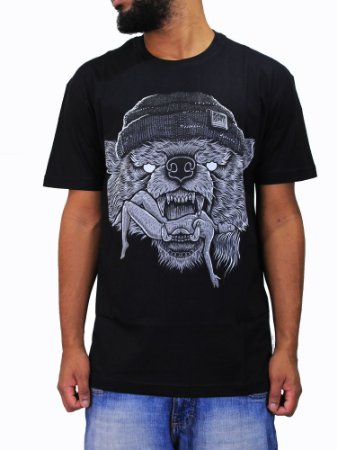 Camiseta Blunt Hungry Bear