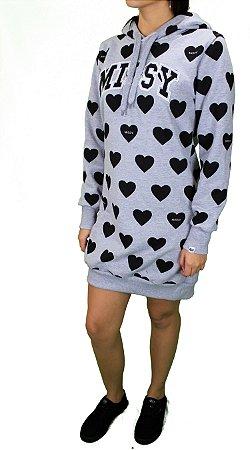 Vestido Moletom Missy Love