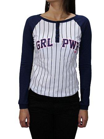 Camiseta Qix Missy Girl Power