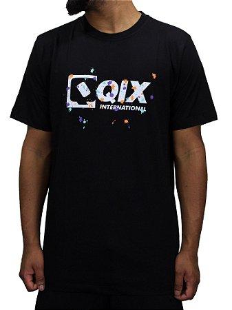 Camiseta Qix Splash Color