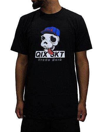 Camiseta Qix Skull Dog