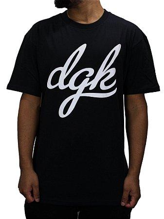 Camiseta DGK Script - Beco Skate Shop c023e3f88f