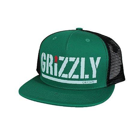Boné Grizzly Bear Stamp Green