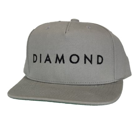 Boné Diamond Facet gray