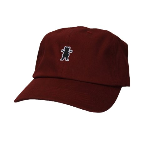 Boné Grizzly Og bear dad Hat Bordo