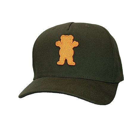 Boné Grizzly Og bear Strapback - Beco Skate Shop 57fc0e16e3e