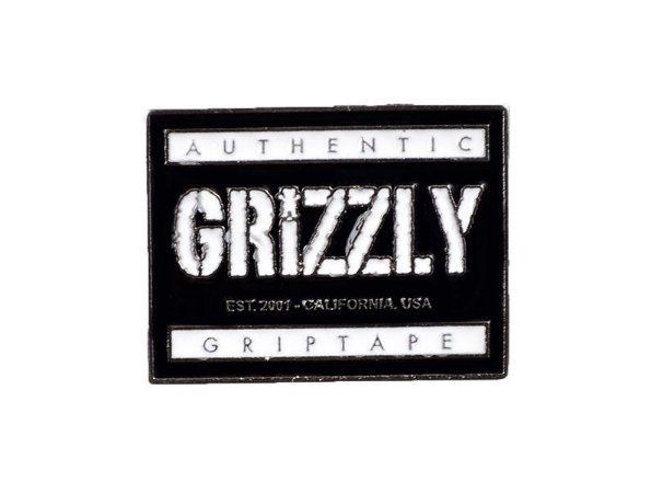 Pin Grizzly Authentic (Botton)