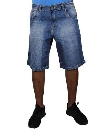 Bermuda Double G Jeans Escuro