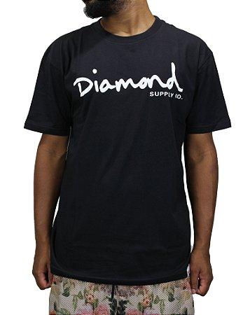 Camiseta Diamond Og Script