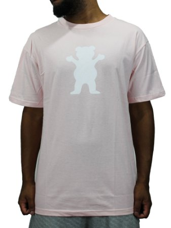 Camiseta Grizzly OG bear Logo Pink