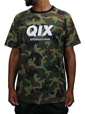 Camiseta Qix Classic Camo