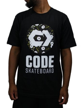 Camiseta Code Flower