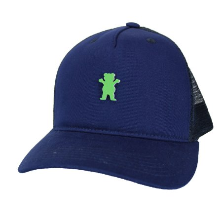 Boné Grizzly Mini Og bear Trucker Blue