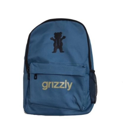 MOCHILA GRIZZLY OG LOGO BLUE