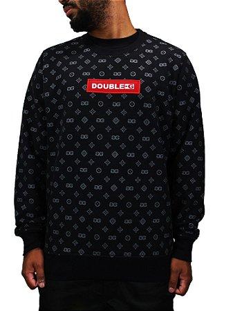 Moletom Double-G Red Pattern