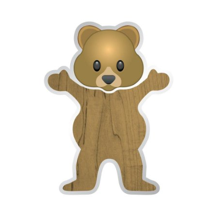 Adesivo Grizzly Torey Pudwill Bear