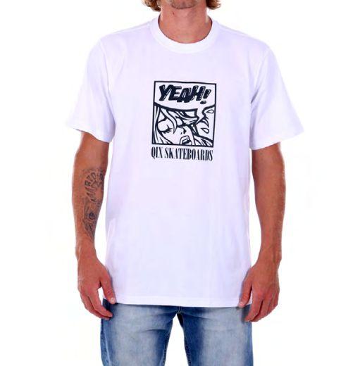 Camiseta Qix Yeah Branca