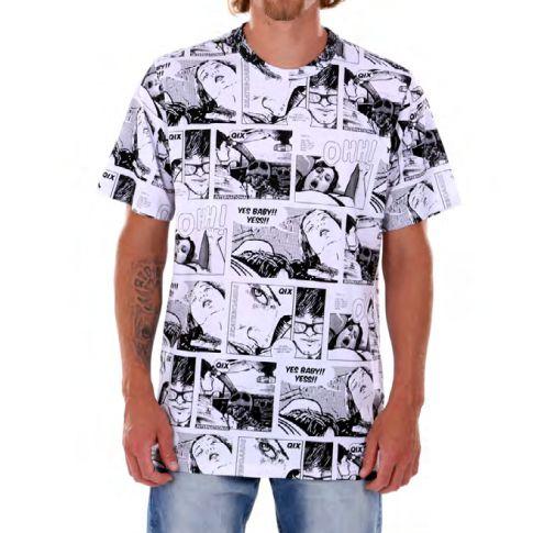 Camiseta Qix Quadrinhos