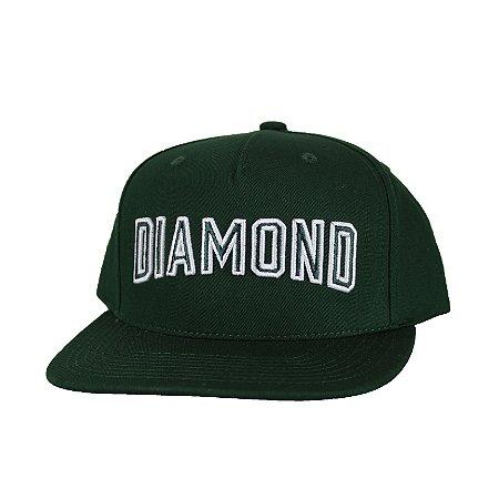 Boné Diamond Stadium Green Snap