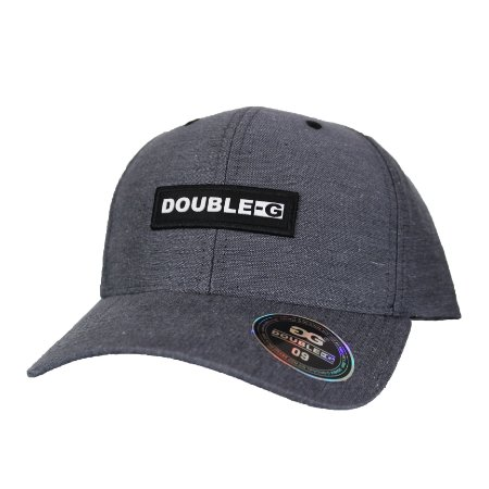Boné Double-G Aba Curva grey
