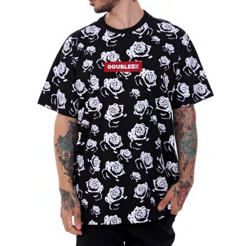 Camiseta Double-G Red box flower