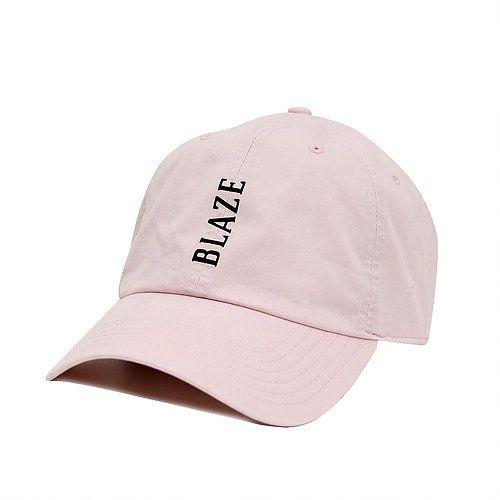 Boné Blaze 6 pannel Pink aba curva