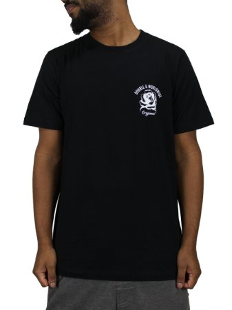 Camiseta Double-G Skull roses Preta
