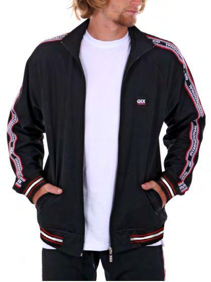 d76ff9a91c5d3 jaqueta Qix Track suit Black - Beco Skate Shop