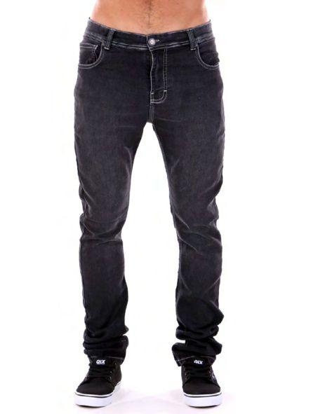 Calça Qix Slim Jeans Black