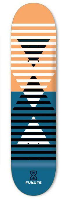 Shape Future Marfim Frequencia laranja 7.75''