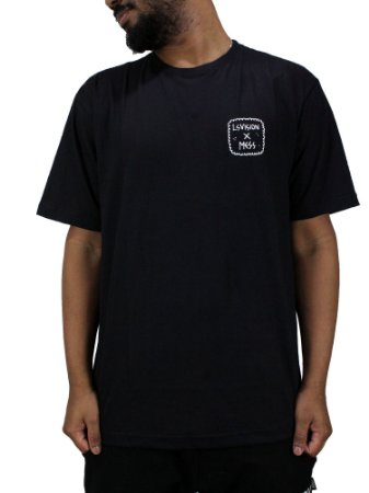 Camiseta Mess x Vision Preta