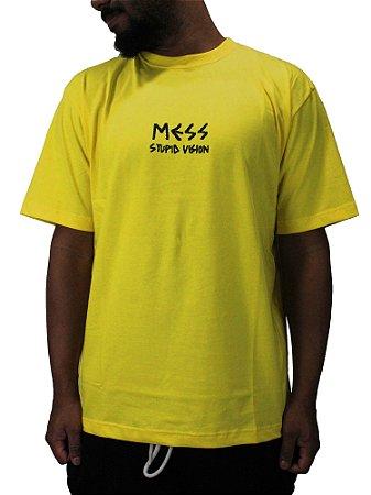 Camiseta Mess x Vision 013 Amarela