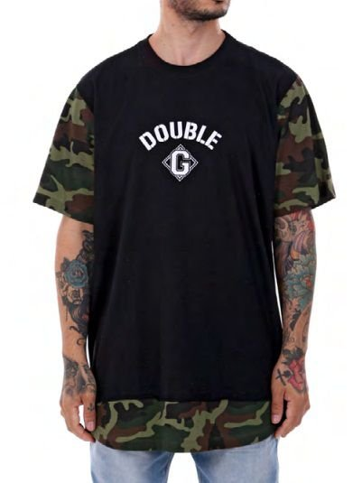 Camiseta Double-G Camuflado Long