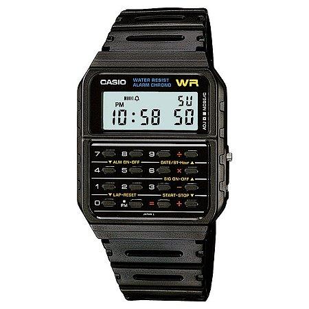 Relógio Vintage Digital CA-53W-1Z - Preto