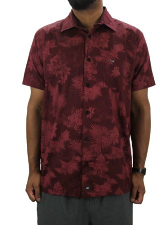 Camisa Wave Giant rEGULAR Bordo