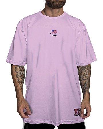 Camiseta Prison Simple Rosa