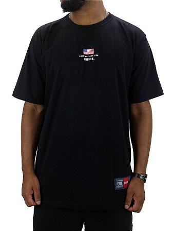Camiseta Prison USA Preta