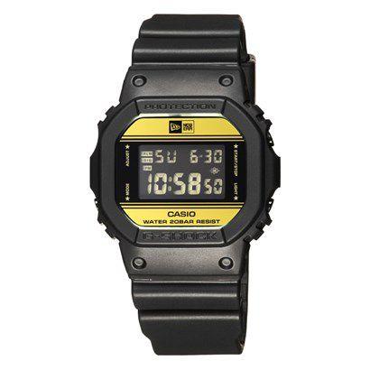 5b4cd6636094 Relógio Casio G-Shock New Era DW-5600NE-1DR Preto - Beco Skate Shop